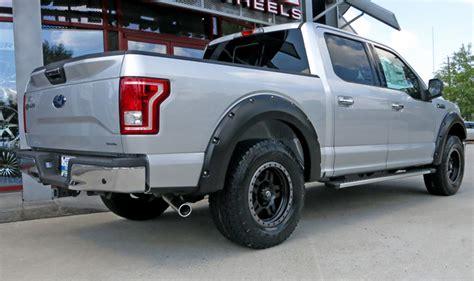 2008 ford f150 fender flares rdj trucks ford f150 2004 2008 pocket bolt smooth black