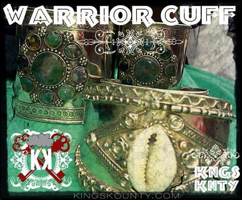 KHEMETIC WARRIOR CUFF / KINGZ KOUNTY