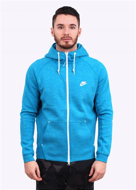 Hoodie Abu Co One 1 nike tech fleece aw77 hoodie light blue