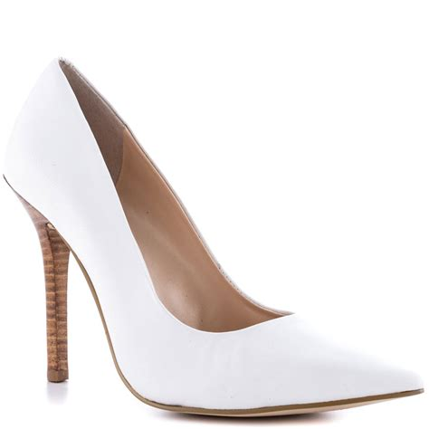guess neodan 4 white leather shoes for aemow
