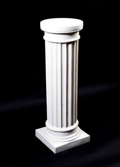 Regent Antiques   Pedestals and plant stands   Elegant Grecian Marble Doric Column Pedestal