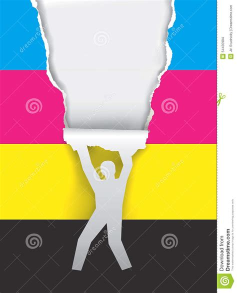 promotion color color printing promotion stock vector image 54430904