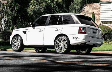 range rover rims land rover range rover sport niche ritz wheels brushed