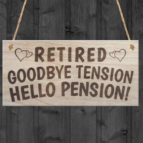 goodbye tension hello pension retirement gift for retirement adventure journal to record travel and activities with table of contents and numbered page books retired goodbye tension hello pension happy