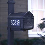 Very Cool Solar Lighted Address Right On Your Mailbox Solar Lighted Mailbox