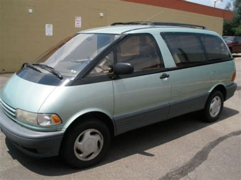 how to sell used cars 1995 toyota previa spare parts catalogs sell used toyota previa awd in boulder colorado united states for us 4 100 00