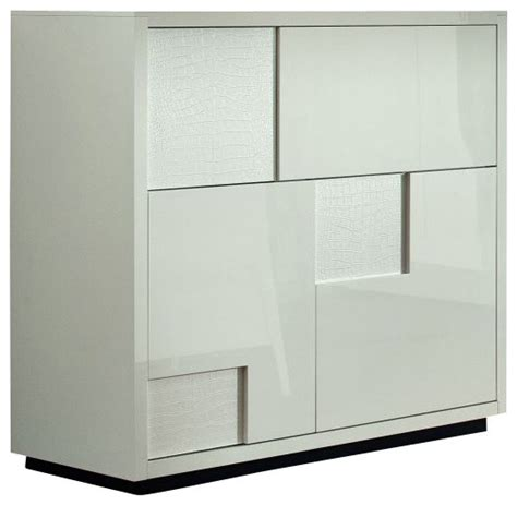 White Bar Cabinet Nightfly Bar Buffet White Modern Wine And Bar Cabinets By Inmod