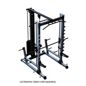 barbarian smith machine half rack squat rack bench press