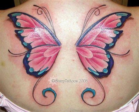 tattoo butterfly wings back wings tattoos page 55