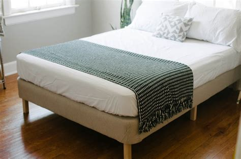 diy full bed frame 21 diy bed frames to give yourself the restful spot of