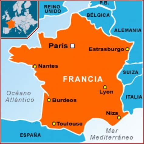 imagenes satelitales de francia mapa de francia francia