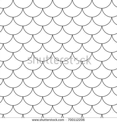 Outline Of A Fish Scale by Fish Scales Stock Images Royalty Free Images Vectors