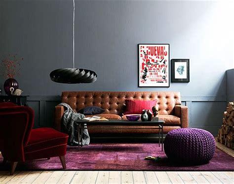 cognac leather furniture  neutral  denim yay