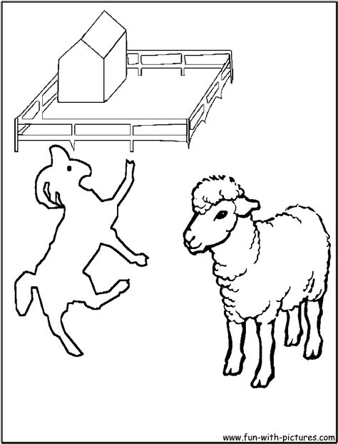 chinese goat coloring page free coloring pages