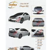 Honda Civic FD 06 09 Mugen RR Body End 7/27/2017 1259 PM