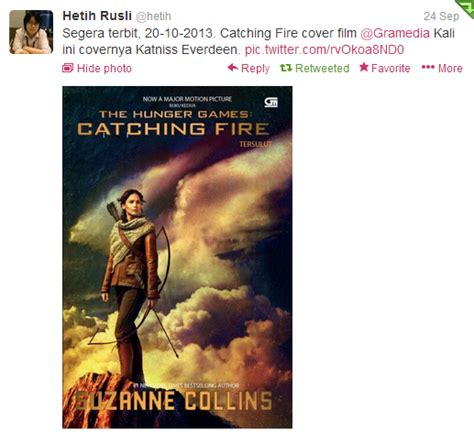 film indonesia full version first look catching fire movie tie in cover novel