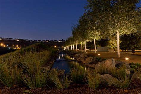 playa vista park playa vista central park horton lees brogden lighting design