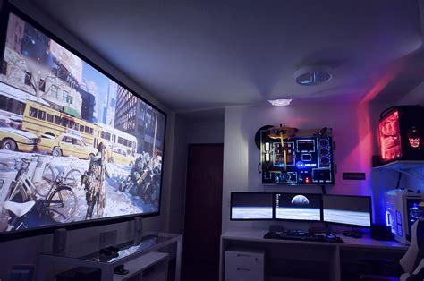 computer themes setup 50 amazing pc gaming setups that make you jealous 2017
