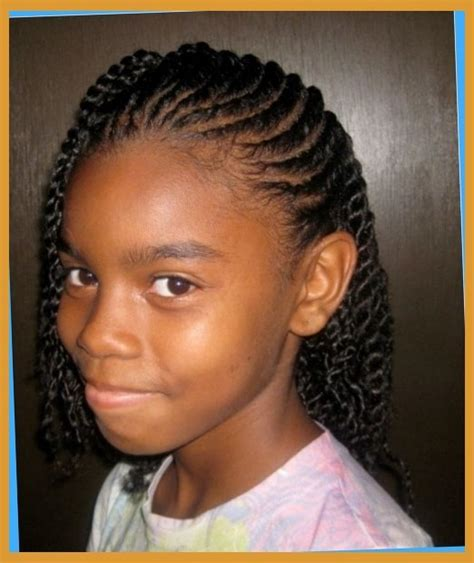 short afro hairstyles little girls african american braid updo short hairstyle 2013