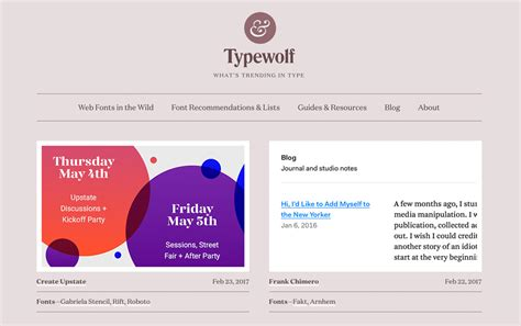 typography resources 5 places to find inspiration for using fonts creatively scrapaneers
