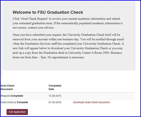 email format check apply for a university graduation check myfsu student