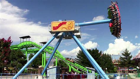 theme park rides sidewinder off ride hd cliff s amusement park youtube