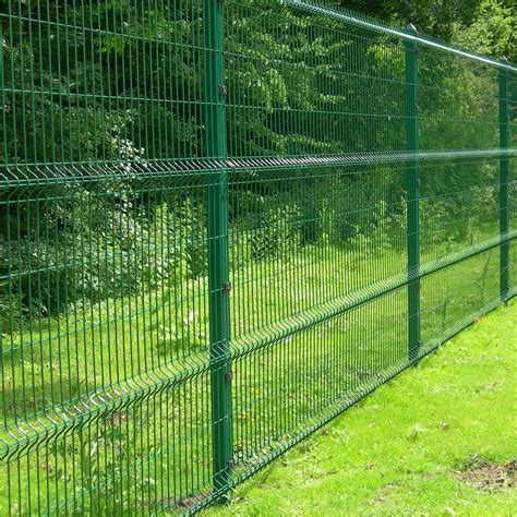 green wire netting fence at residential purchasing