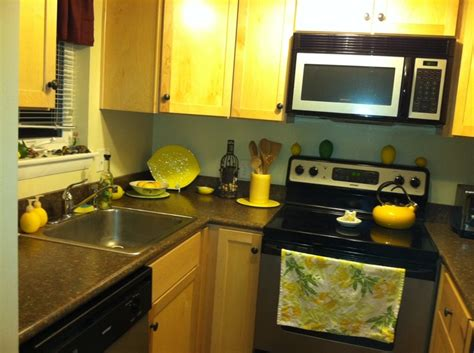 themed kitchens my lemon themed kitchen home decor