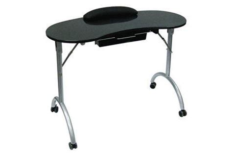 Portable Manicure Table And Chair by Grab And Go Furniture Style Nails Magazine