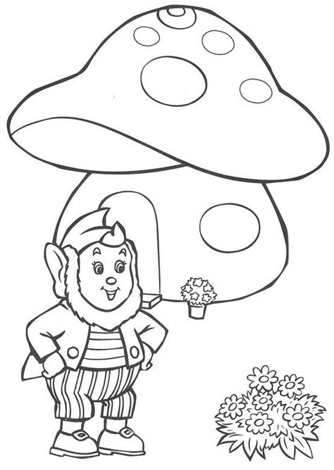 Noddy Coloring Pages Coloringpages1001 Com Noddy Colouring Pages