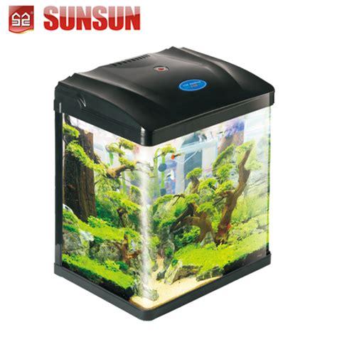 Pompa Aquarium Kolam Mini desktop mini melihat tangki ikan akuarium 29l hrc 380d