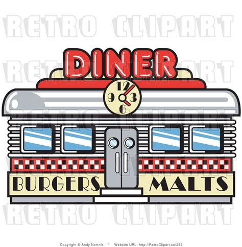 Diner Clipart design 50s diner clipart clipart suggest