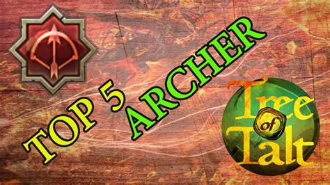 Top 5 Saviors by Tree Of Savior Top 5 Archer Builds