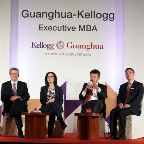 Kellogg Executive Mba by Guanghua Kellogg Executive Mba Two Prestigious