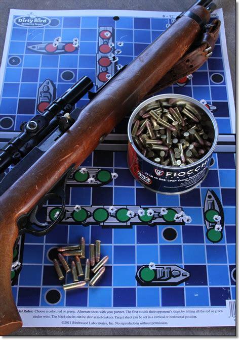 printable shooting targets battleship birchwood casey dirty bird game targets gunsamerica digest