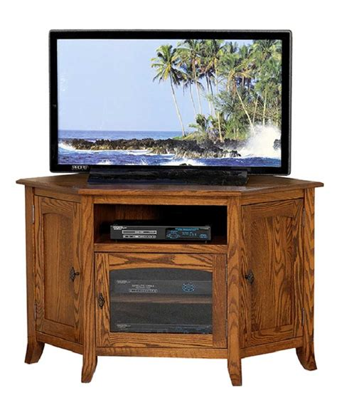 Mission Style Tv Cabinet by Mission Style 35 Corner Tv Stand Amish Direct