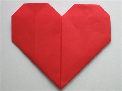 Simple Origami Hearts - easy origami