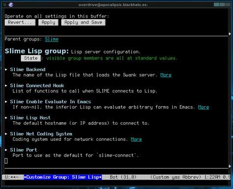 slime tutorial emacs gnu emacs 187 configuracion de swank servidor lisp y emacs