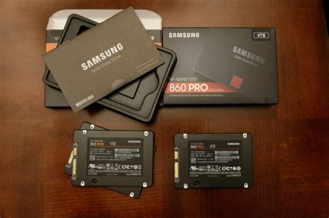 samsung 860 evo and pro sata ssd review 512gb 1tb and 4tb tested pc perspective