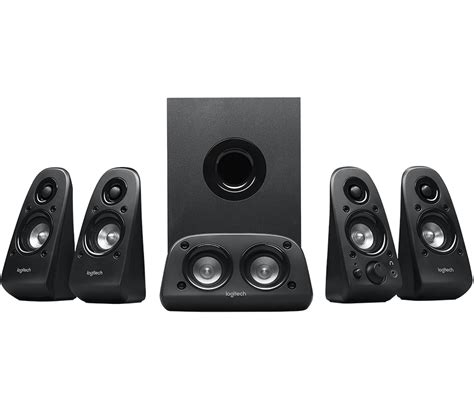 logitech z506 5 1 surround sound speakers system with 3d