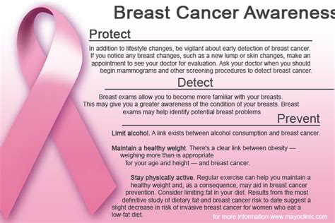 breast cancer brochure template free flyer idle