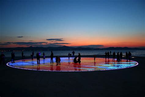 sea organ croatia zadar dalmatia zadar sea organ and greeting to the