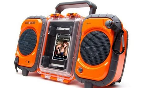 ecoxgear rugged and waterproof stereo boombox ecoxgear rugged waterproof stereo boombox save 46 instantly