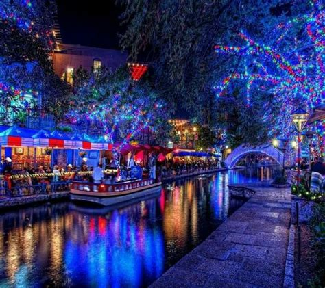 21 best san antonio riverwalk christmas images on