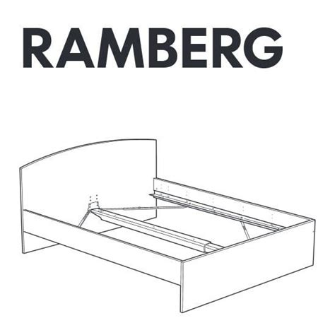 Parts Of A Bed Frame Ikea Ramberg Bed Frame Replacement Parts Furnitureparts