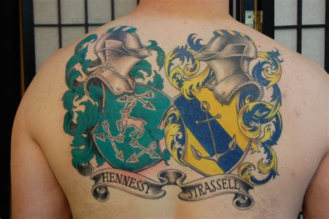 crest tattoo designs 20 family crest designs and images