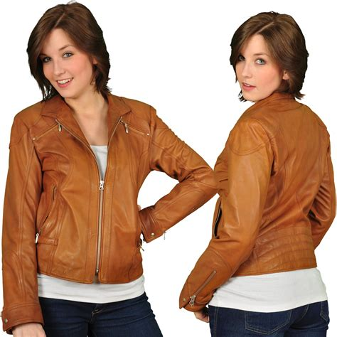 light brown leather jacket womens light brown leather jacket women brown leather jacket