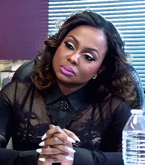 back of phaedra s hair phaedra parks not impressed the hollywood gossip
