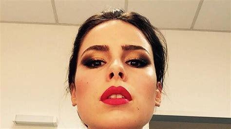 lena meyer landrut makeup erkannt lena meyer landrut mit drama make up promiflash de