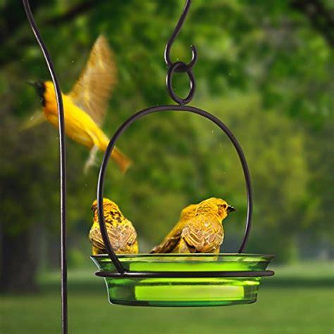 colorful bird baths hanging birdbath colorful bird bath songbird feeder